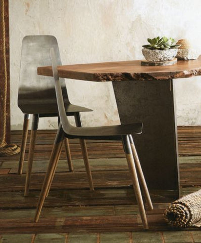 Roost Rialto Chair - dining-chairs, Fir Wood, furniture, industrial, iron, organic, Rialto, Roost, seating