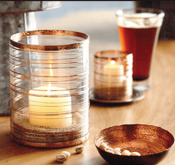 Roost Copper Votives - accessories, gifts, gifts-for-her, gifts-for-him, gifts-for-the-bridesmaids, gifts-for-the-couple, new-arrivals-in-decor, new-arrivals-in-gifts-indulgences, Roost, wedding-gifts