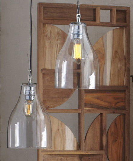 Roost Berlin Hanging Pendant Lamps - Bohemain Chic, glass, Hand Blown, lighting, pendants, pendants-chandeliers, Roost