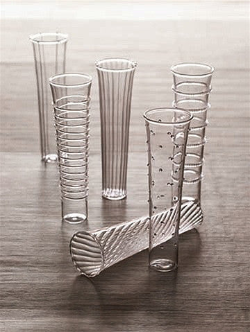 Roost Dainty Champagne Flute Set - Blown Glass, champagne-flutes, Entertaining, gifts-for-the-couple, gifts-for-the-host, gifts-for-the-occasion, glassware, glassware-1, handmade, kitchen-dining, Roost, wedding-gifts