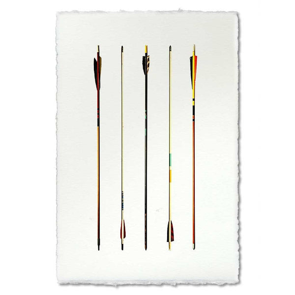 Roy Barloga Arrow Study #1 Print