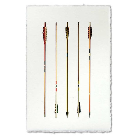 Roy Barloga Arrow Study #2 Print
