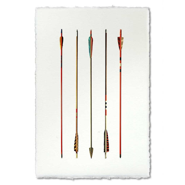 Roy Barloga Arrow Study #3 Print