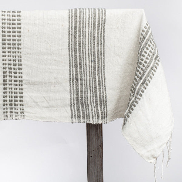 Fair Trade Stripes Tablecloth - Tablecloths - Shop Nectar - 1