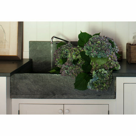 Green Marble Single Bowl Kitchen Farm Sink - Sinks - Shop Nectar - 4