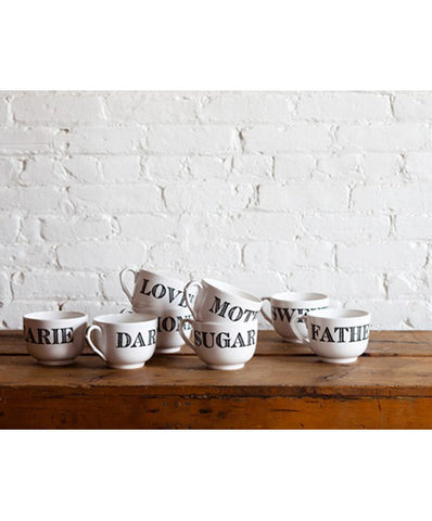 Sir Madam Endearment Mugs - Mugs - Shop Nectar - 2