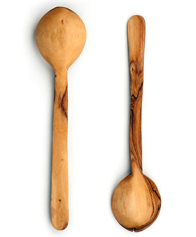 Fair Trade Polka Dot Flat Bone Handle Servers - africa, african, assorted-styles, bone, eco, fair-trade, flatware-utensils, gifts-for-the-host, gifts-for-the-occasion, Hand Carved, handmade, kitchen-dining, salad server, serveware, serving spoon, serving spoons, serving-utensils, sustainable, sustainably harvested, tabletop-dinnerware-1, wood