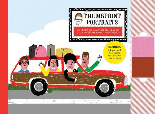 The Small Object: Thumbprint Portraits - Coloring & Craft Books - Shop Nectar