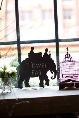 Elephant Chalk Board - Chalkboards - Shop Nectar