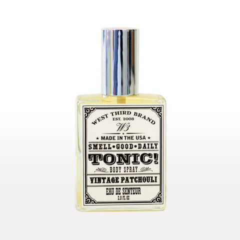 West Third Brand Smell Good Daily Eau de Toilette- Vintage Patchouli - assorted-styles, bath-beauty, dad, day, eau-de-parfum, father, Father's, fragrance, Gift, gifts, gifts-for-him, mother, mother's, patchouli, scent, vintage patchouli, West Third Brand