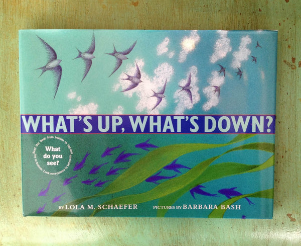 Whats Up Whats Down by Lola M Schaefer and Barbara Bash - kids-books, nature-books