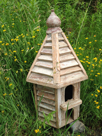 Large Wooden Bird Houses - Bird Houses - Shop Nectar - 2