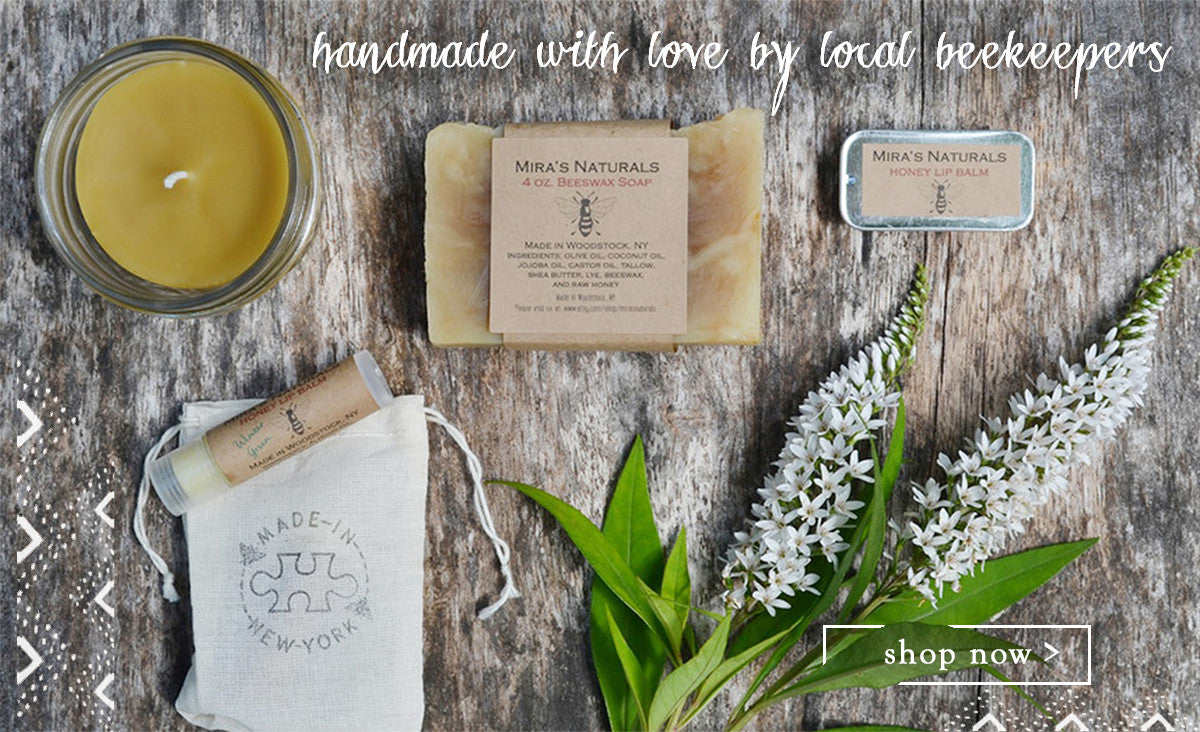 Mira's Naturals Hudson Valley Beeswax Beauty Product And North Upstate NY