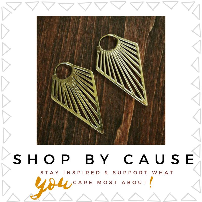 Unique gifts fair trade jewelry sustainably sourced recycled home decor