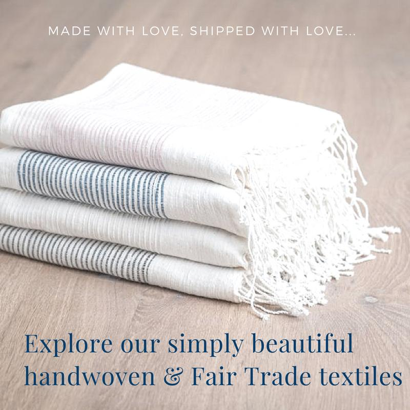 Fair trade textile hand woven handmade home decor and unique Fair Trade gifts