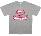 Bee and PuppyCat Men's Poo Monster Logo T-Shirt