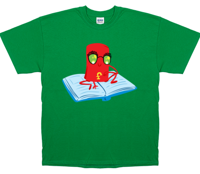 Fredbot Men's Bookbot T-Shirt
