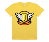 Super Coin Crew Women's Logo American Apparel T-Shirt