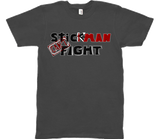 Stickman Can't Fight Logo│Unisex Shirt