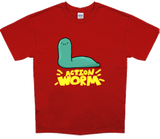 Action Worm (with text) [Unisex]