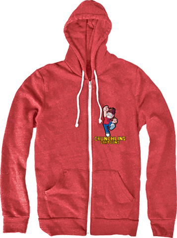 Crunchlins Cartoons Jump Hoodie (Zip Up)