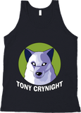Tony Crynight's Wolf Logo - Tank Top