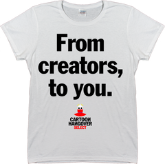 Cartoon Hangover - Creators Women's T-shirt WHITE