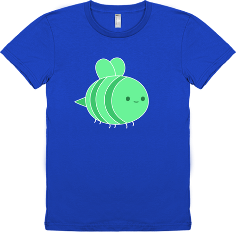 Bravest Warriors Women's Sticker Pet Bee Tee