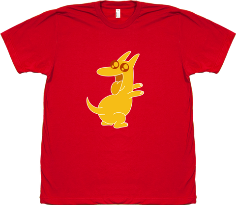 Bravest Warriors Men's Sticker Pet Dog Tee