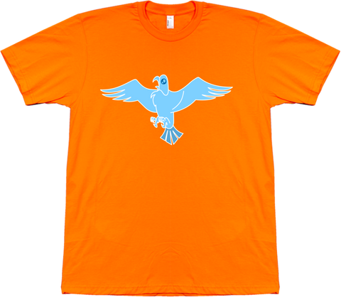 Bravest Warriors Men's Sticker Pet Falcon Tee
