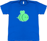Bravest Warriors Men's Sticker Pet Bee Tee