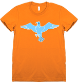 Bravest Warriors Women's Sticker Pet Falcon Tee