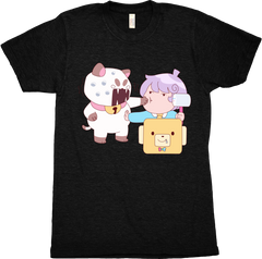 Men's PuppyCat and Cardamon T-Shirt