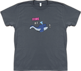 Fire at Whale! T-shirt