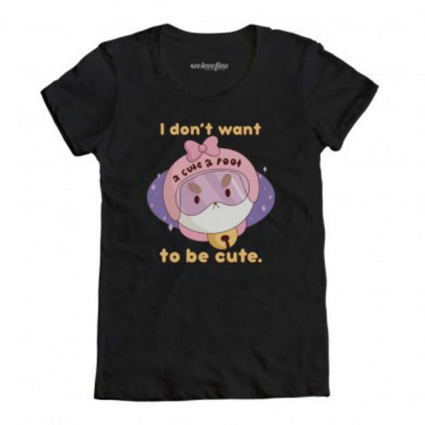 Bee and PuppyCat Women's 2 Cute 2 Poot T-Shirt