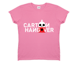 Women's Cartoon Hangover T-shirt