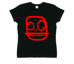 Women's Crunchlins Skull Red Logo T-Shirt