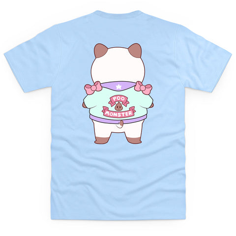 Bee and Puppycat Poo Monster Men's T Shirt