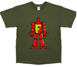 Channel Frederator Men's Robot + Human T-Shirt