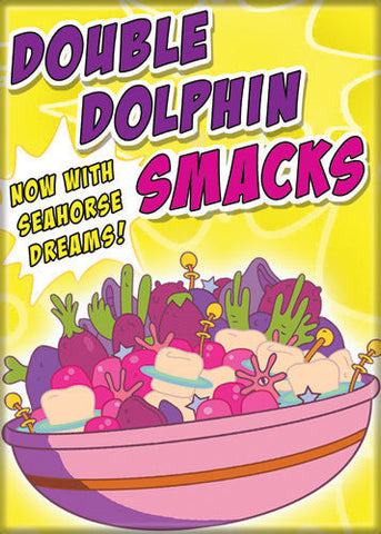Bravest Warriors Double Dolphin Smacks Magnet