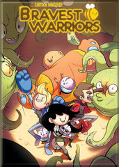 Bravest Warriors Green Comic Cover Magnet