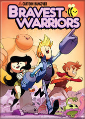 Bravest Warriors Orange Comic Cover Magnet