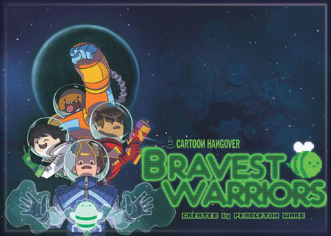 Bravest Warriors Space Team Magnet