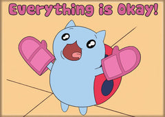 Catbug Everything is Okay Magnet
