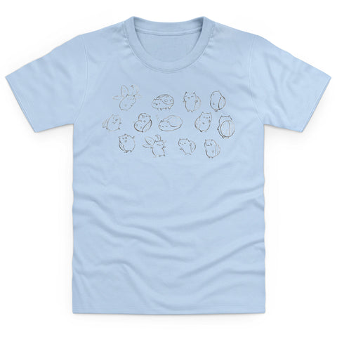 Catbug Sketch Youth T Shirt