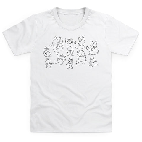 Puppycat Sketch Youth T-shirt