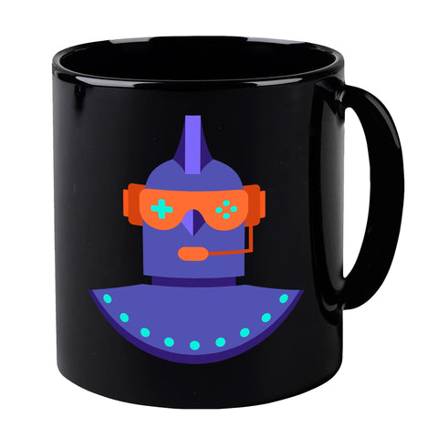 The Leaderboard Purple Logo Mug