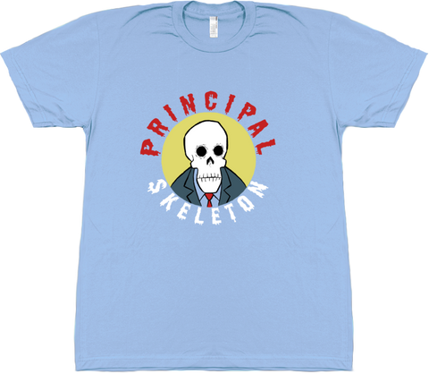 Principal Skeleton Shirt