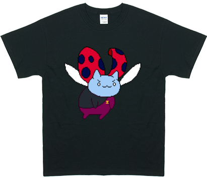 Catbug Men's Fly Catbug Fly! Commander Catbug T-Shirt