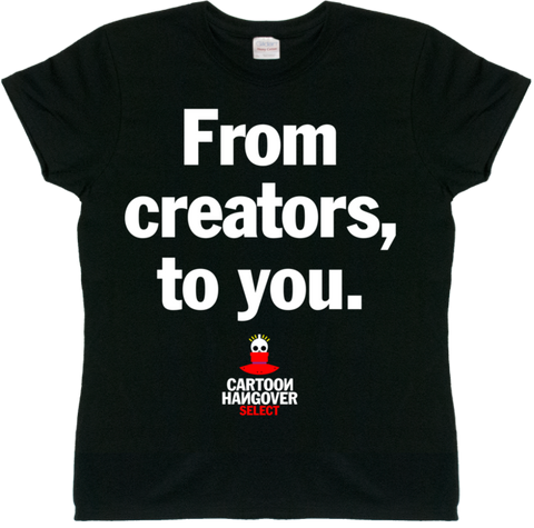 Cartoon Hangover - Creators Women's T-Shirt BLACK